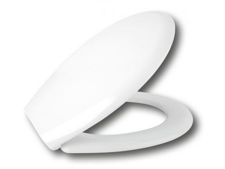 WC Deckel  mit Absenkautomatik Merkmale klassische Deckelform Duroplast 1,6 Kg.