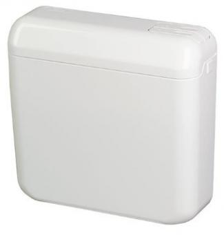 Aufputzspüllkasten 2-Mengenspülung Weiß